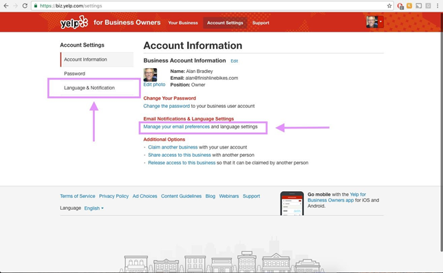 How do I enable email notifications on Yelp? – Online Review